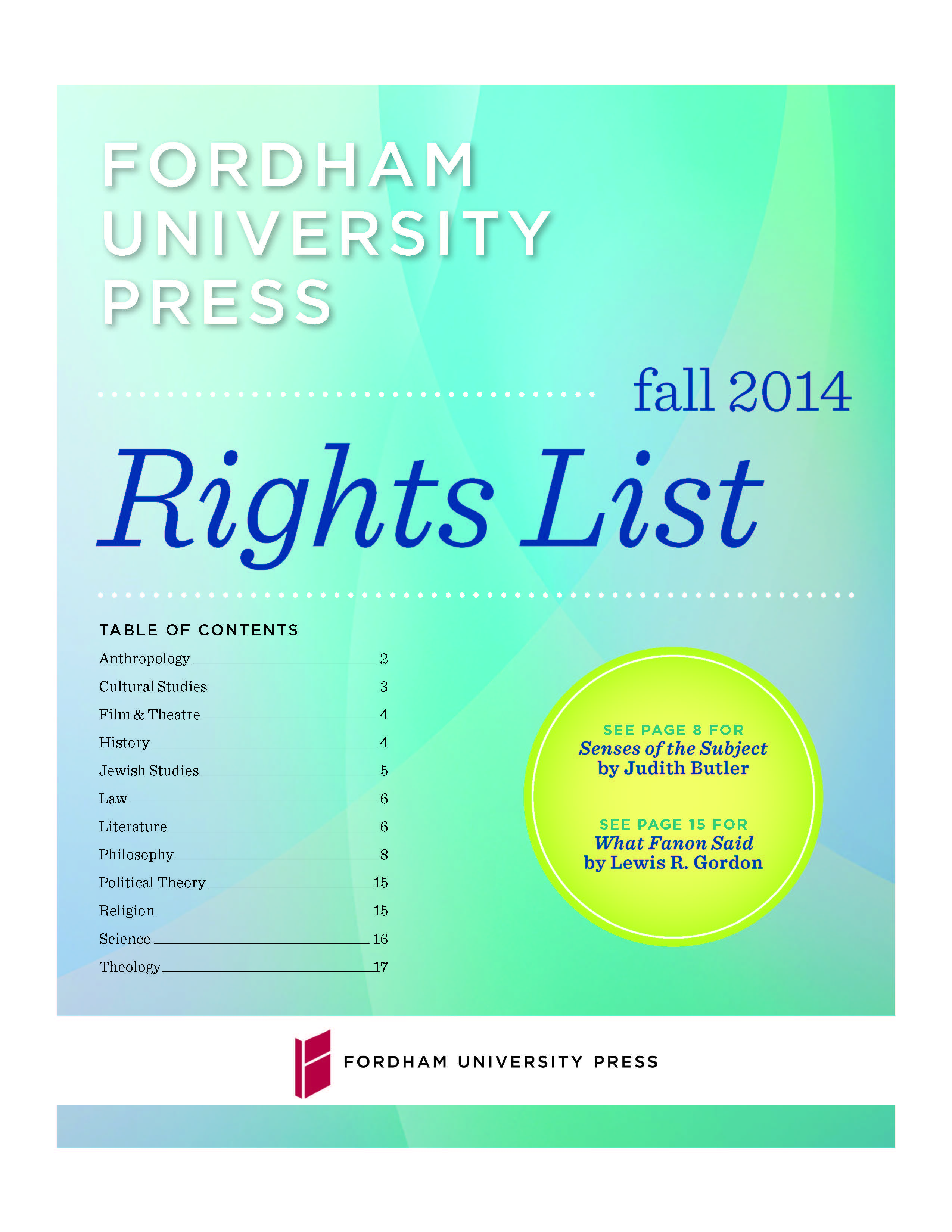 Foreign Rights 2014