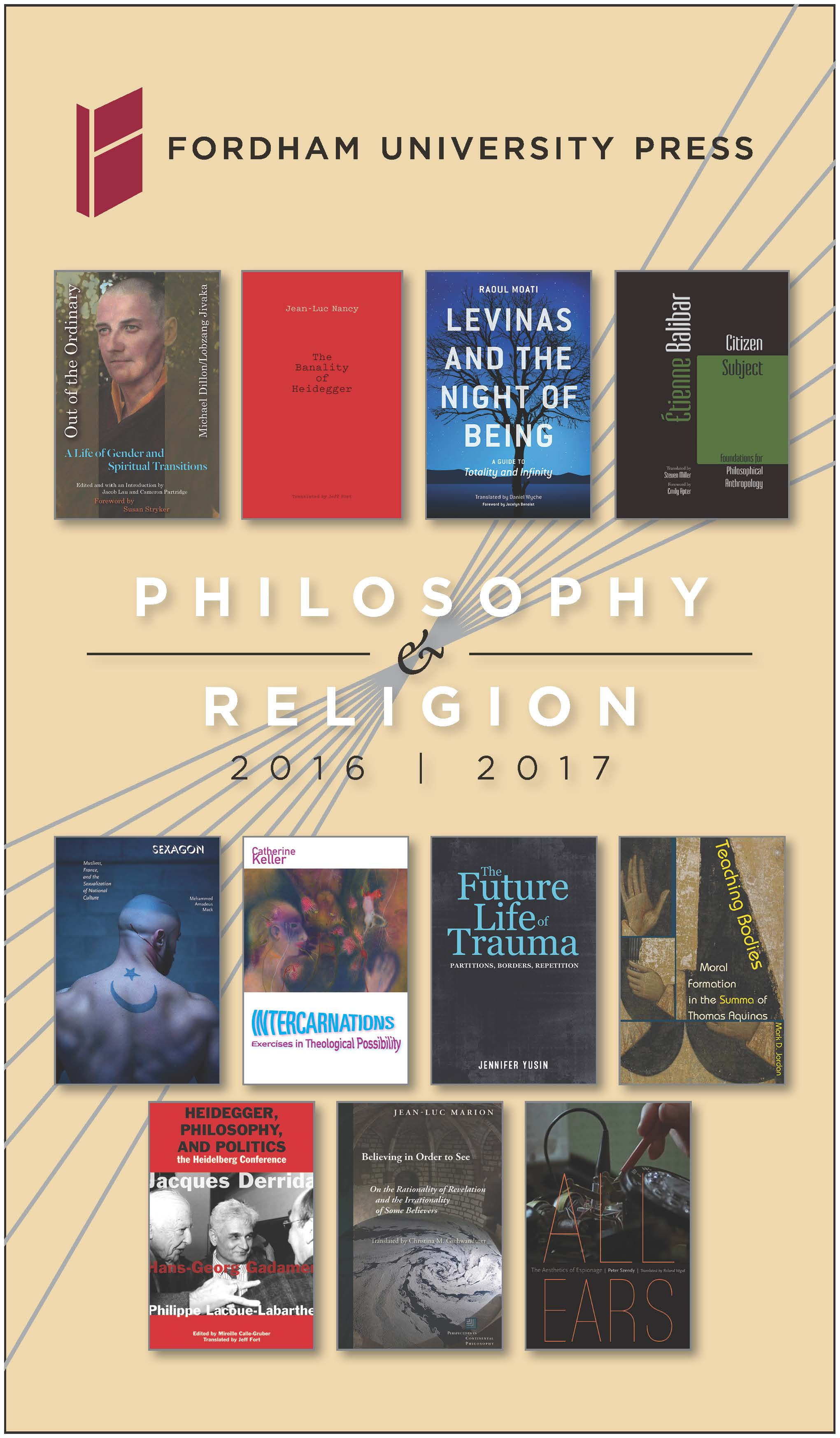 Philosophy & Religion 2016-217