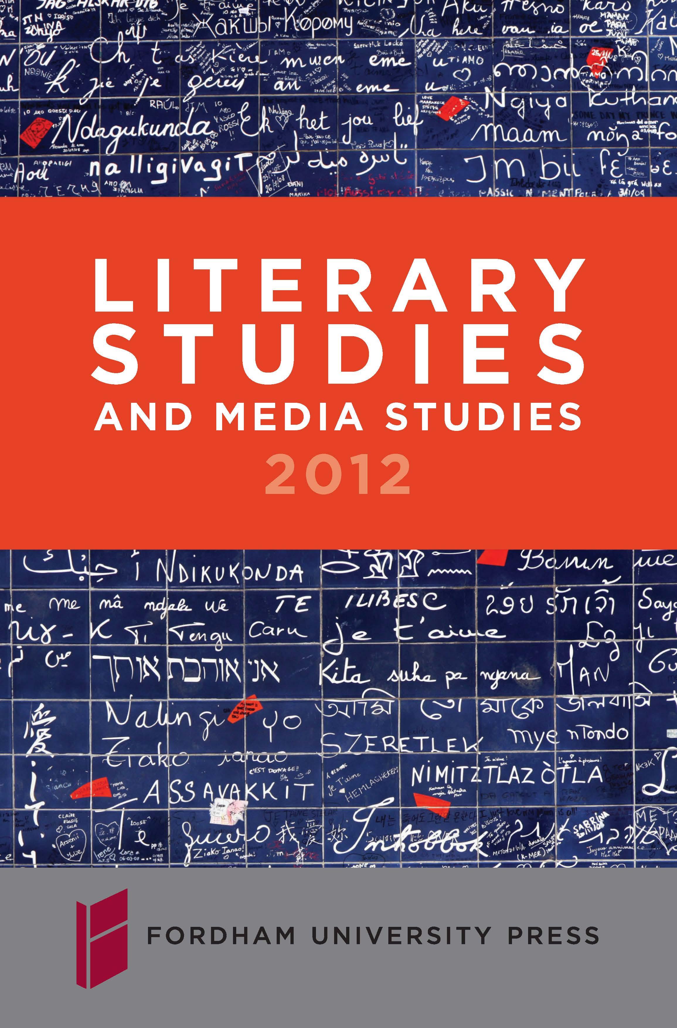 Literary Studies 2012