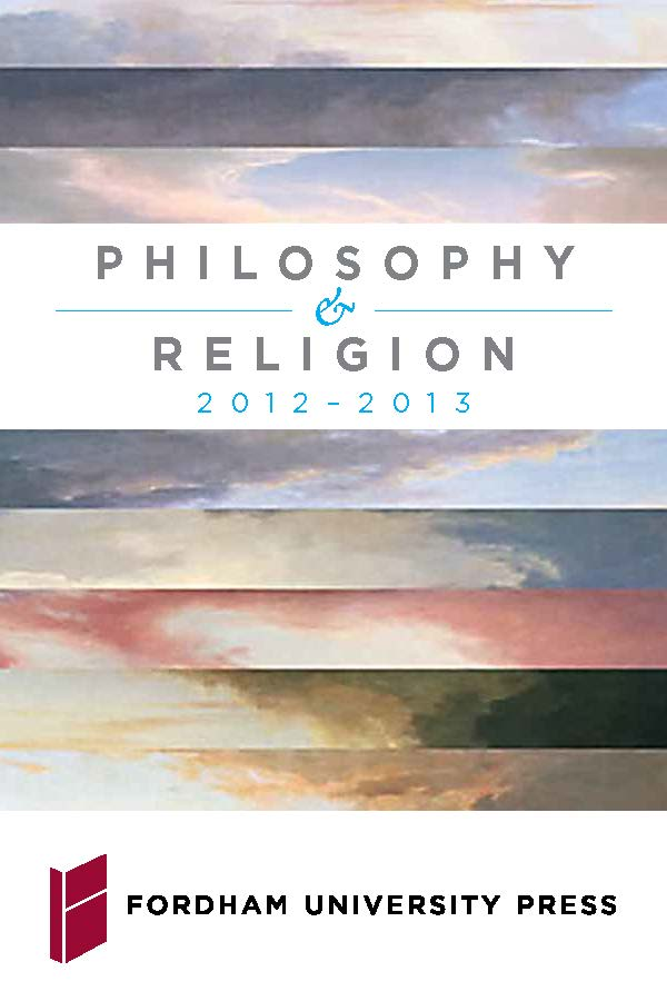 Philosophy & Religion 2012|2013