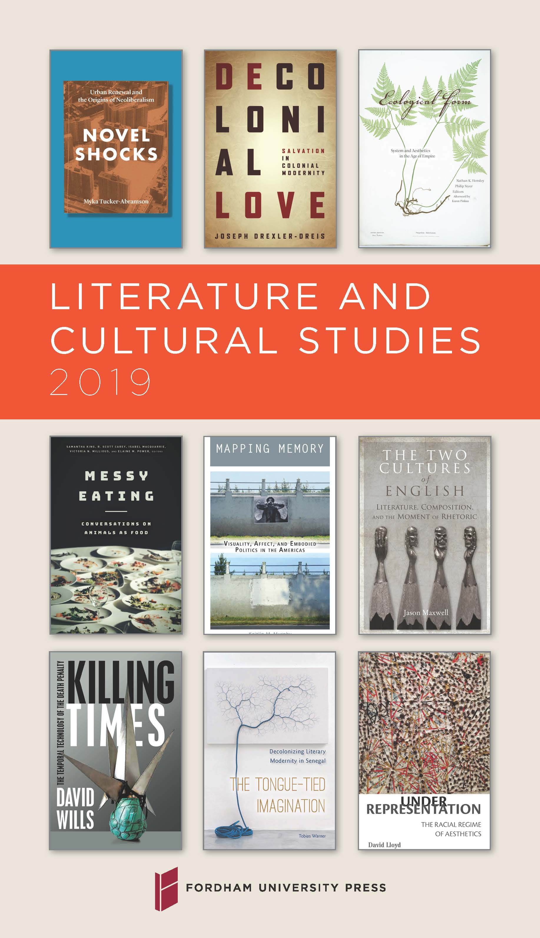 Literature and Cultural Studies 2019