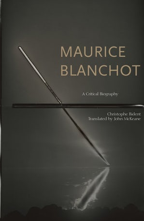 Blanchot Cover